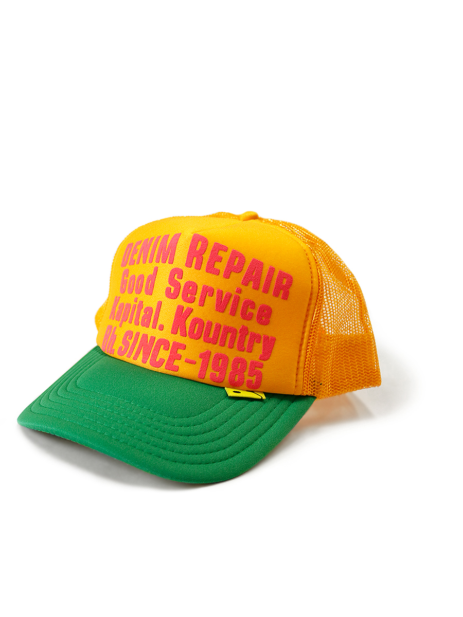 DENIM REPAIR SERVICE PT 2TONE トラックCAP